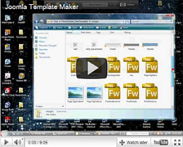 Joomla 34 template creator make your own templates artisteer creates a new template with the click of a button pronofoot35fo Choice Image